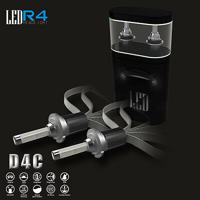 D1S D1R D1C 6000K HID White 980W 147000LM Fanless CREE LED Conversion Headlight