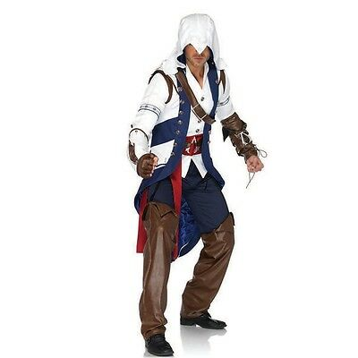 Men's Adult Video Game Assassin's Creed III Connor Cosplay Costume Halloween