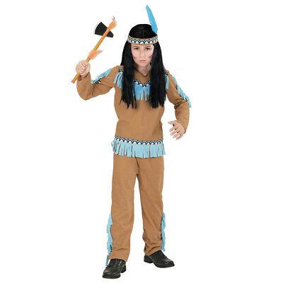 INDIANER KOSTÜM KINDER Karneval Fasching Häuptling Krieger Western - Indianer Krieger Kostüm Junge