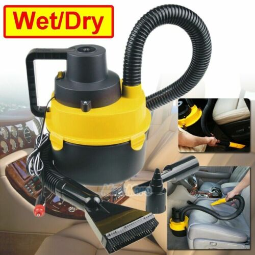 Car Vacuum Cleaner Wet &Dry Ultra Vac Hand Vacuum For Any 12