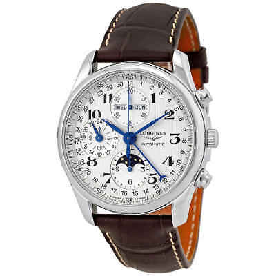 Longines Master Collection GMT Moonphase Men's Watch L2.673.4.78.3