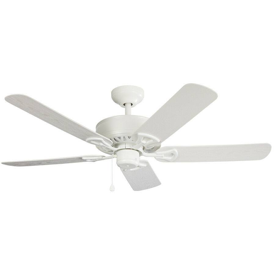 Low Price 52 Inch Calera Ceiling Fan WHITE