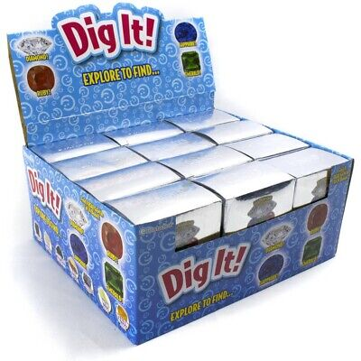 Diamond Dig it ! ONE Small Blind Box Find Real Diamond in 1 in 24 Boxes!
