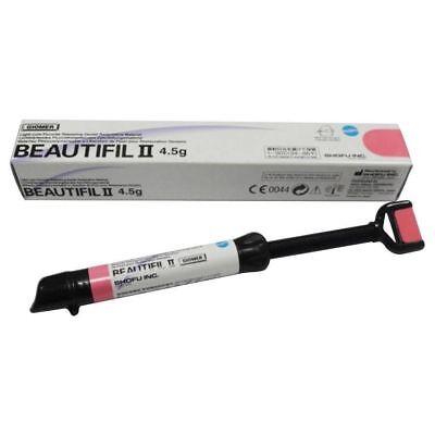 Shofu Beautifil Ii 4.5g Dental Composite Fluoride Releasing Shade