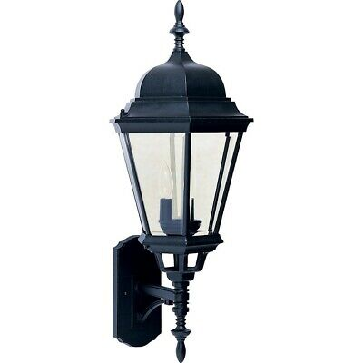 Maxim Westlake Cast 3-Light Outdoor Wall Lantern Black - 1006BK