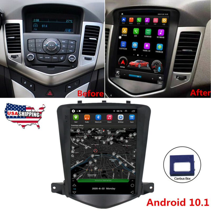 """For 2009-2014 Chevy Cruze 9.7"""" Android 10.1 Car Radio GPS Player 2+32GB USA Ship"""