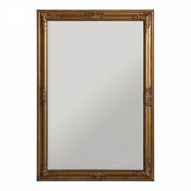 BRAND new churchill gold mirror - still wrapped RRP 80