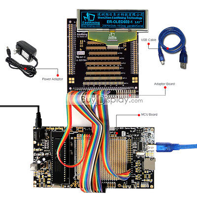 8051 Microcontroller Development Board Kit Usb Programmer For 3.2oled Display