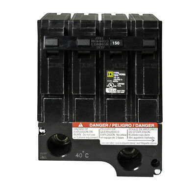 New Hom2150bb Square D 150 Amp 2 Pole Hom2150 Circuit Breaker Homeline Sub Feed