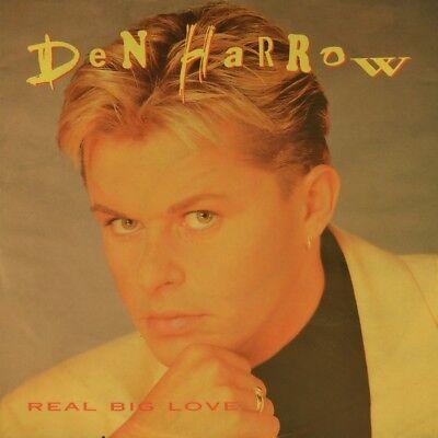 "7"" DEN HARROW Real Big Love / I Need Your Love POLYDOR Italo Disco orig. 1992"