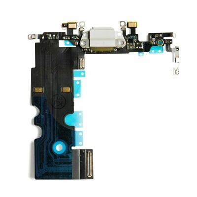 iPhone 8 Charging Port - Replacement Charger Flex Cable USB Dock Mic White