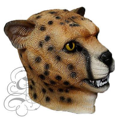 atze Gepard Leopard Kostüm Requisiten Karneval Party Maske (Gepard Kostüm)