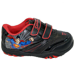 BOYS INFANT AMAZING SPIDERMAN SCHOOL FASHION TRAINERS VELCRO KIDS SHOES SIZE NEW