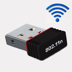 Hot Mini Wireless USB Adapter Receiver LAN Wifi Dongle for 802.11b/g/n 150Mbps
