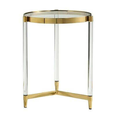 Uttermost Kellen Glass Accent Table - 24748