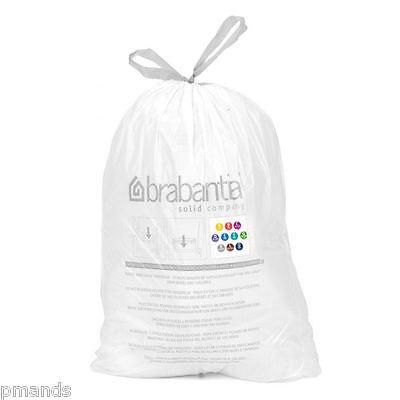 Brabantia Bin Liners Rubbish Bags 3L 5L 10L 12L 15L 18L 20L 23L SLIM 30L 45L 50L Brabantia 50 L Bin Liner