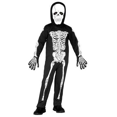 KINDER SKELETT KOSTÜM & TOTENKOPF MASKE Halloween Jungen Kleinkinder - Kleiner Junge Skelett Kostüm