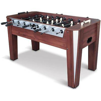"Foosball Soccer Table 60"" Competition Sized Arcade Game Room Hockey Fooseball"