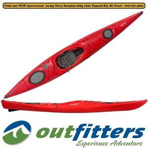 """""""STRATOS 14.5S"""" Performance Touring Kayak by Dagger for Sale - """"Red"""" - Stock#132887"""