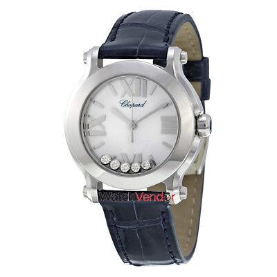 Chopard Happy Sport Mini Diamond Ladies Watch - 278509-3001