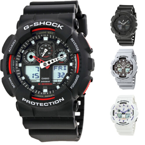 Casio G-Shock Resin Strap Mens Watch