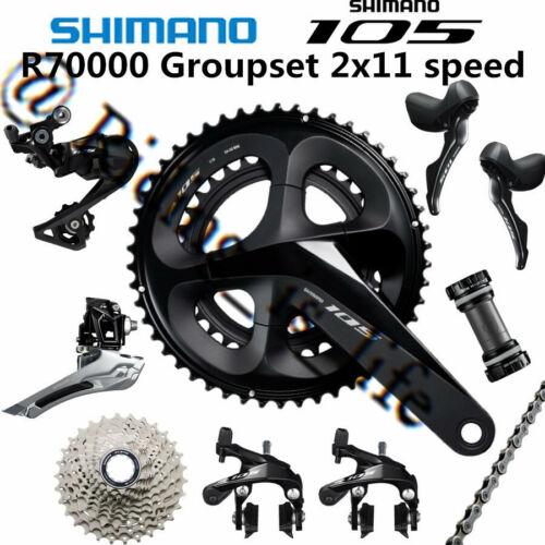 Shimano 105 R7000 2x11 Road Bike Groupset 50-34/52-36/53-39 170MM/172.5MM/175MM