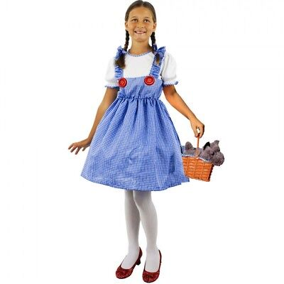 Zauberer von Oz Kinder Dorothy Mädchen Kostüm Charakter Satz Schule