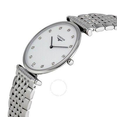 Longines La Grande Classique White Dial SS Quartz Ladies Watch L47094176