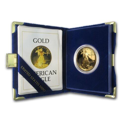 1 oz Proof Gold American Eagle (Random Year, w/Box & COA) - SKU #59248