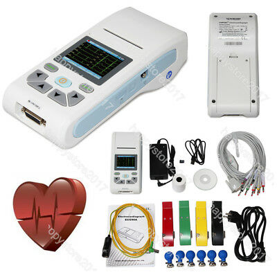 Touch Ecg90a Digital 3612-lead Ecg Ekg Machine Electrocardiograph Pc Software
