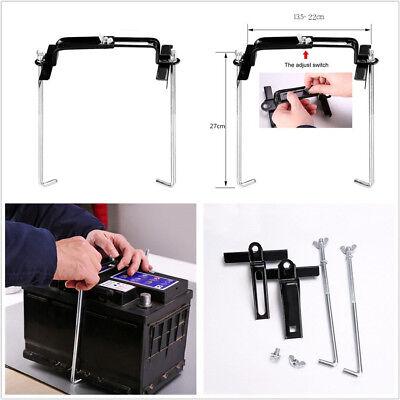 Metal 27cm Car Automobile Adjustable Battery Holder Stabilizer Bracket Universal