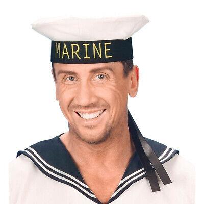 MATROSE HUT Karneval Fasching Party Marine Offizier Seemann Kostüm Mütze  # - Offizier Hut Kostüm