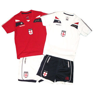 Respect England Kids Football Shirt & Shorts rrp £35