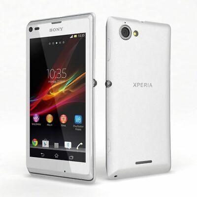 SONY Xperia L (C2105) White Unlocked Smartphone - Grade B - Bargain
