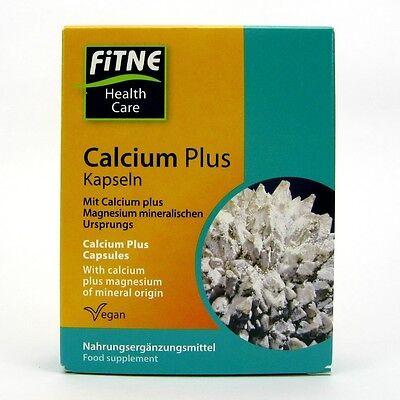100 Kapseln Calcium ((30,69/100g) Fitne Calcium Plus Kapseln vegan 30 Stk. 23,43 g)