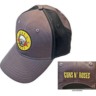 Guns N Roses-Embroidered Circle Logo-Snapback 2 Tone OSFA Baseball Cap