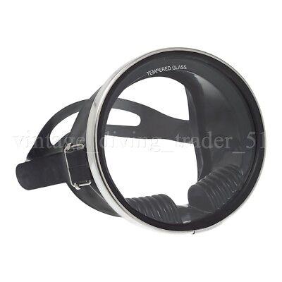 Runde Classic retro Einglas Taucher-Maske Scuba Taucherbrille Vintage-Style NEU