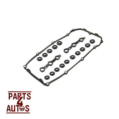 VALVE COVER GASKET SET WITH GROMMETS / BOLT SEALS FOR BMW E46,E39