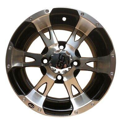 Quad ATV Alu Felge 7x12 12x7 4x110 5+2 ITP SS112 Silber / Schwarz 1228244404B ()