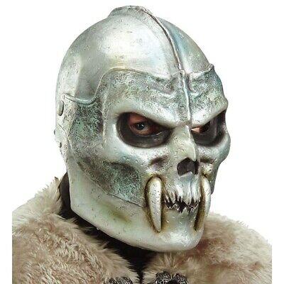 LATEX TOTENKOPF MASKE # Halloween Krieger Latexmaske Horror Schädel Kostüm - Krieger Kostüm Maske