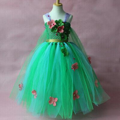 Anna Tutu Dress (Girls Frozen Anna Elsa Tutu Dress Princess Costume Birthday Party Dress Up)