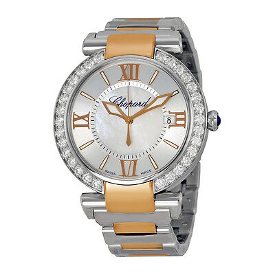 Chopard Imperiale Silver Dial Steel and Rose Gold Automatic Unisex Watch