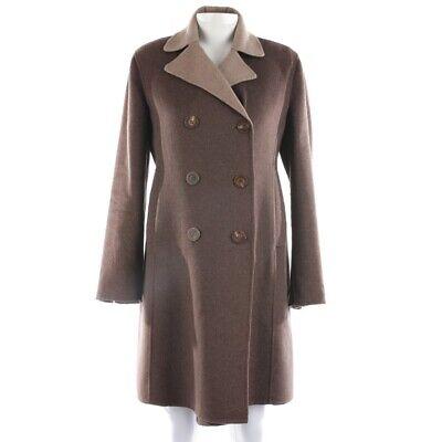 Iris Von Arnim Kaschmirmantel Size 42 Braun Ladies Jacket Coat Between-Seasons