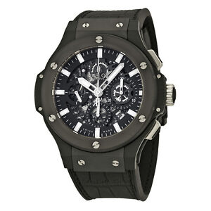 mens watches iced hublot bang watch auto