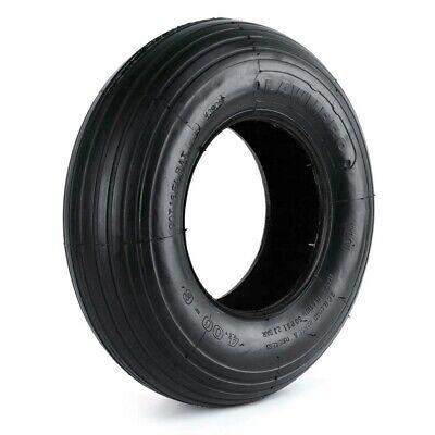Martin Wheel LawnPro Rib Tread 400-6 Tubeless 2 Ply Wheelbarrow Tire Durable Wheelbarrow Rib Tire