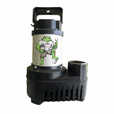 Pond Waterfall Pump 6500 GPH Energy Efficient Big Frog Eco Drive Anjon BFED6500