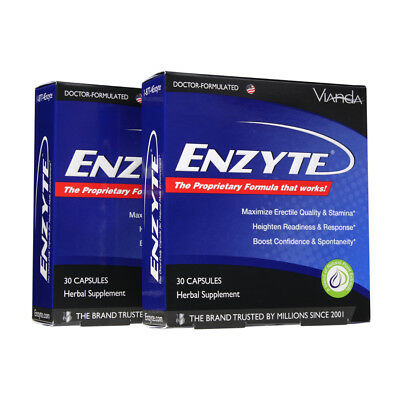 Enzyte Male Enhancement w/ Horny Goat Weed & Asian Ginseng - 60 - Enzyte Male Enhancement