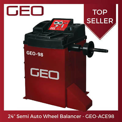 "24"" Semi Auto Wheel Balancer - GEO ACE98 - UK Direct 24hr Shipping - £699 + VAT"