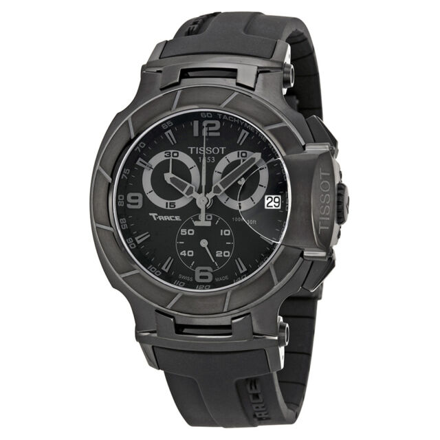 Tissot T-Race Collection Black Mens Watch T0484173705700-AU