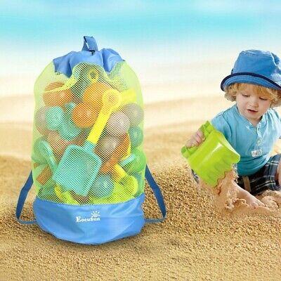 EocuSun Portable Sand Away Carry All Kids Toys Mesh Tote